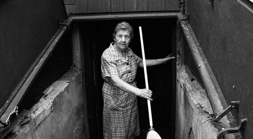 Nonni at cellar door, 1994
