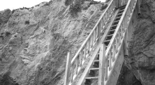Staircase at El Matador001+